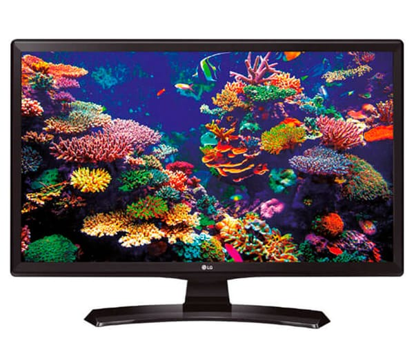 LG 24TK410V-PZ TELEVISOR MONITOR NEGRO 24'' LCD LED HD READY HDMI USB REPRODUCTOR MULTIMEDIA