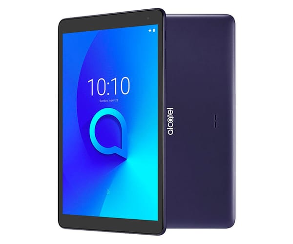 ALCATEL 1T 10 WIFI TABLET NEGRO AZULADO 10.1'' IPS HD/4CORE/16GB/1GB RAM/5MP/2MP