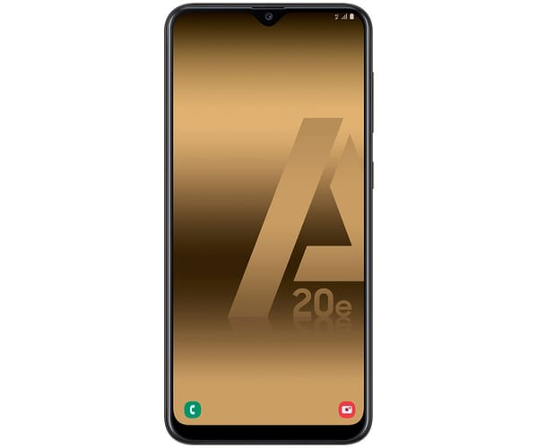 SAMSUNG GALAXY A20e NEGRO MÓVIL 4G DUAL SIM 5.8'' PLS TFT LCD HD+/8CORE/32GB/3GB RAM/13MP+5MP/8MP