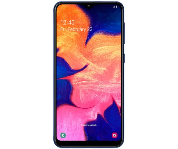 SAMSUNG GALAXY A10 AZUL MÓVIL 4G DUAL SIM 6.2'' TFT LCD HD+/8CORE/32GB/2GB RAM/13MP/5MP