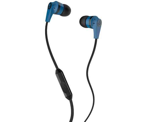 SKULLCANDY INKD 2 BLUE BLACK AURICULARES DE BOTÓN IN-EAR CON CABLE Y MICRÓFONO