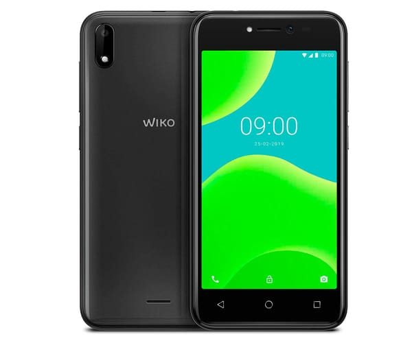 WIKO Y50 DARK GREY MÓVIL 3G DUAL SIM 5'' TN FWVGA/4CORE/16GB/1GB RAM/5MP/5MP