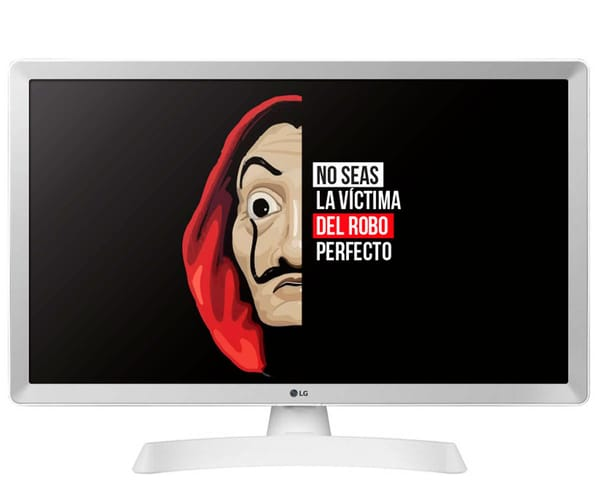 LG 28TL510S-WZ BLANCO TELEVISOR MONITOR 28'' LCD LED HD SMART TV HDMI USB 8ms LAN WIFI COMPONENTES COMPUESTA ÓPTICA