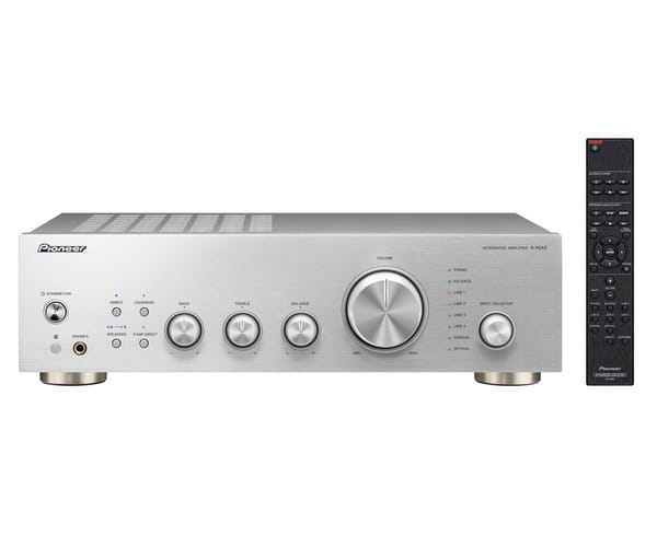 PIONEER A-40AE PLATA AMPLIFICADOR INTEGRADO 2X60W CON DIRECT ENERGY DESING Y ENTRADA PHONO MM
