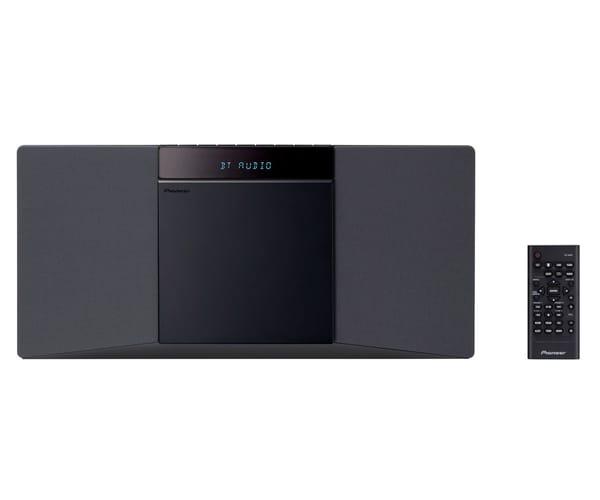 PIONEER X-SMC02(B)CMP NEGRO EQUIPO DE AUDIO ESTÉREO 10W CD BLUETOOTH USB RDS FM COMPATO Y DELGADO