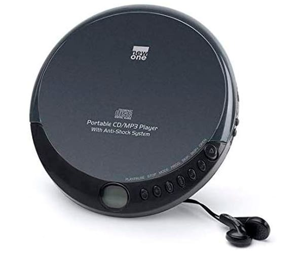 NEWONE D900 NEGRO REPRODUCTOR CD/MP3 CDR CDRW MP3 ANTISHOCK
