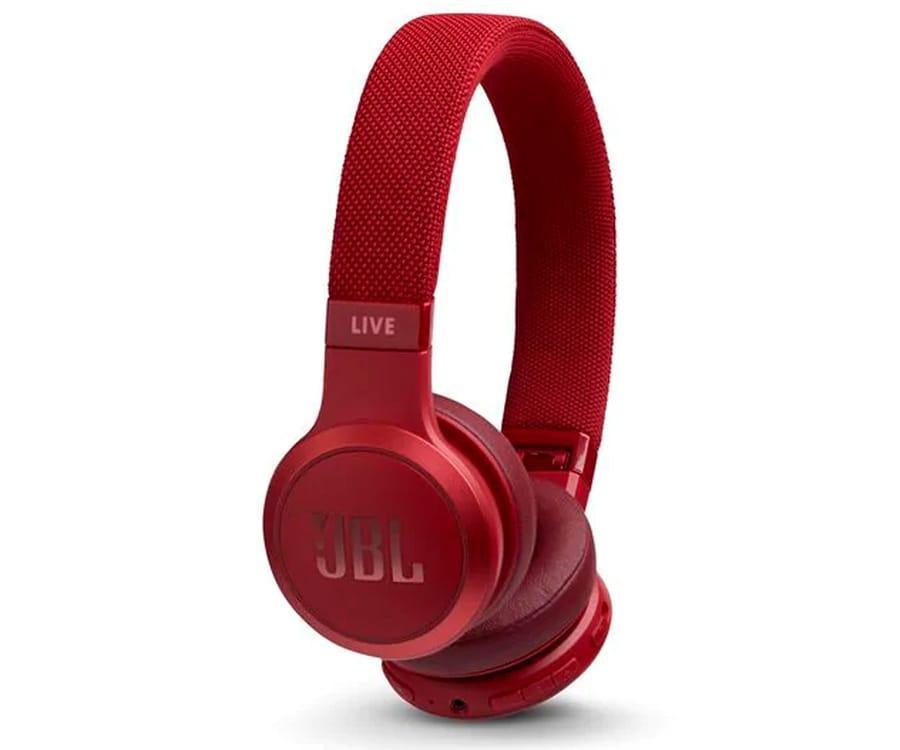 JBL LIVE 400 BT ROJO AURICULARES ON-EAR INALÁMBRICOS BLUETOOTH MANOS LIBRES ASISTENTE DE VOZ