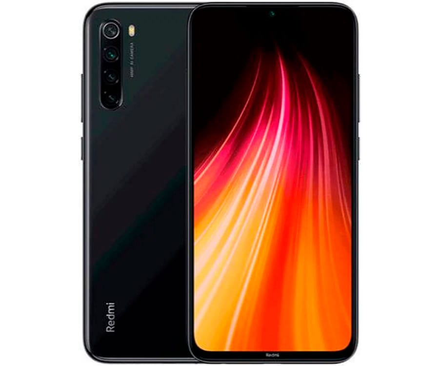 XIAOMI REDMI NOTE 8 NEGRO MÓVIL 4G DUAL SIM 6.3'' FHD+ OCTACORE 64GB 4GB RAM QUADCAM 48MP SELFIES 13MP