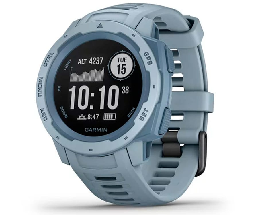 GARMIN INSTINCT SEA FOAM 45mm SMARTWATCH RESISTENTE GNSS GPS ANT+ BLUETOOTH