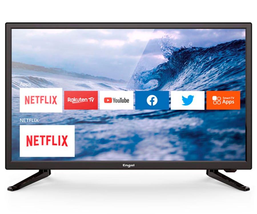 ENGEL 24LE2482SM TELEVISOR 24'' LCD LED HD WIFI HDMI RCA USB VESA 100x100