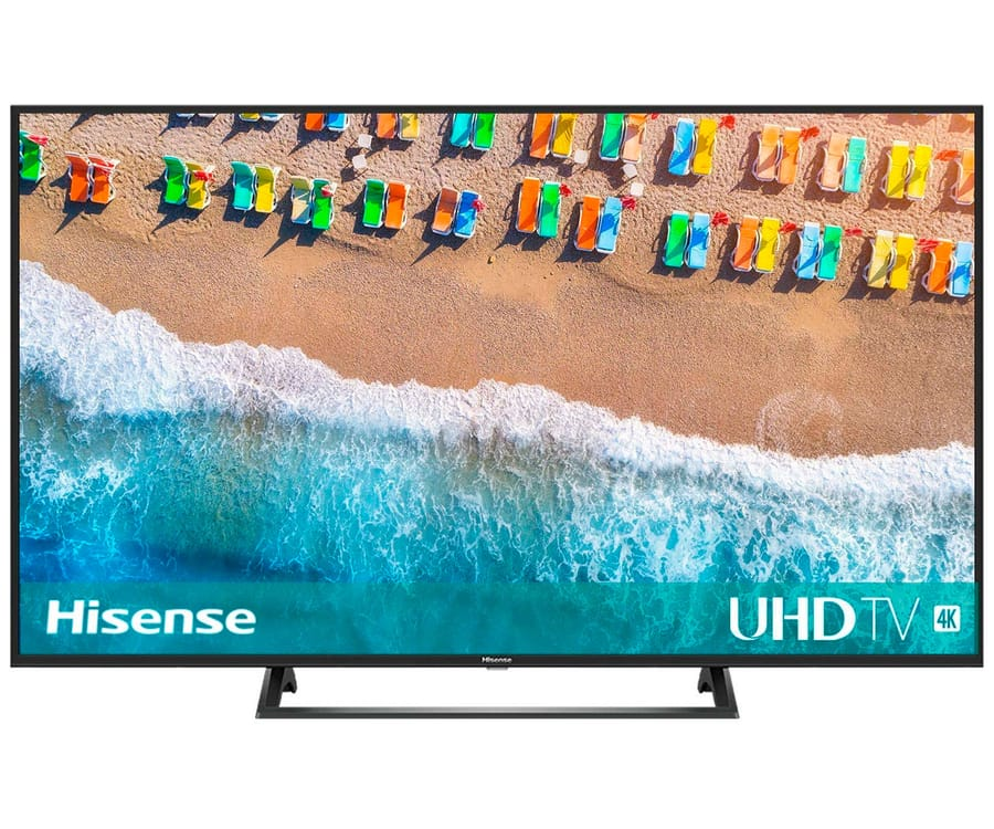 HISENSE H55BE7200 TELEVISOR 55'' LCD DIRECT LED UHD 4K 2000Hz DOLBY VISION SMART TV WIFI CI+ HDMI USB REPRODUCTOR MULTIMEDIA