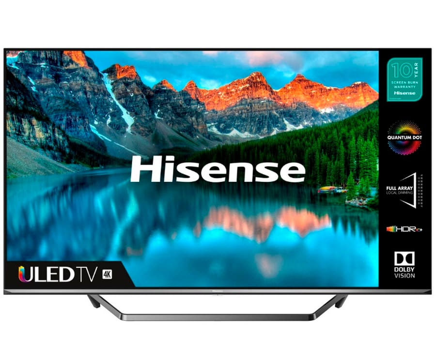 HISENSE H65U7QF TELEVISOR 65'' SMART TV ULED 4K UHD HDR 2500PCI CI+ HDMI USB BLUETOOTH