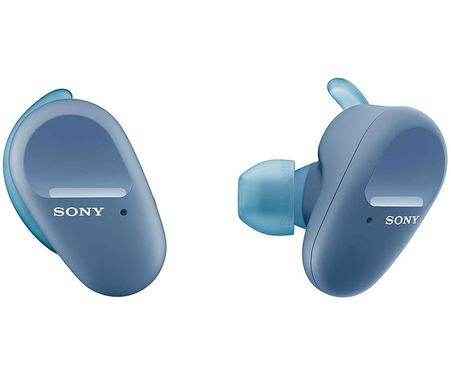 SONY WF-SP800N AZUL AURICULARES INALÁMBRICOS TRUE WIRELESS EXTRA BASS NOISE CANCELLING