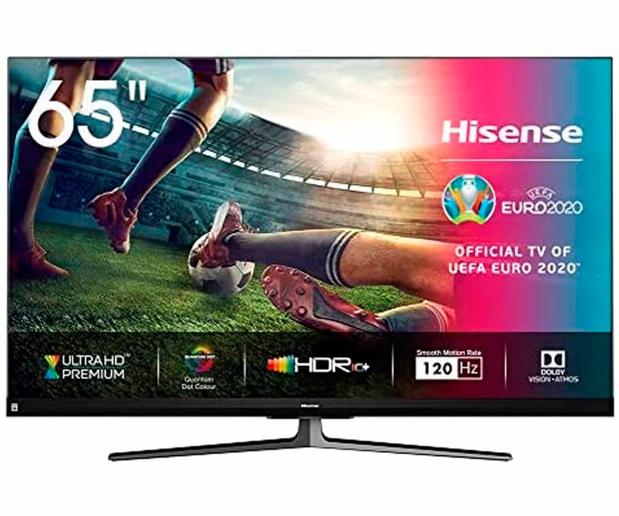 HISENSE H65U8QGF TELEVISOR 65'' SMART TV ULED 4K UHD HDR 120Hz CI+ HDMI USB BLUETOOTH