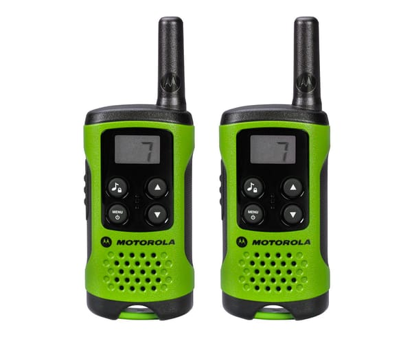 MOTOROLA TLKR T41 VERDE WALKIE TALKIES 4KM