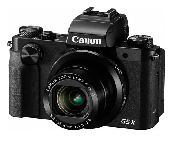 CANON POWERSHOT G5 X NEGRA CÁMARA DE FOTOS DIGITAL COMPACTA 20.2MP
