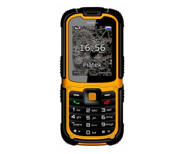 c859aca3753 MYPHONE HAMMER 2 AMARILLO MÓVIL TODOTERRENO DUAL SIM 2.2'' TÁCTIL CON  BLUETOOTH