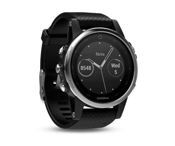 GARMIN FENIX 5S NEGRO RELOJ 42MM MULTIDEPORTE GPS WIFI BLUETOOTH