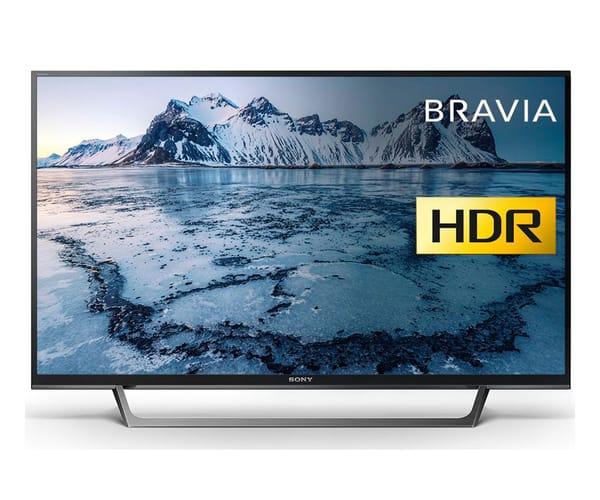 SONY KDL-40WE660 TELEVISOR 40'' LCD EDGE LED FULL HD HDR 400Hz SMART TV WIFI HDMI LAN USB REPRODUCTOR MULTIMEDIA