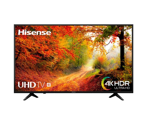 HISENSE H50A6140 TELEVISOR 50'' LCD DIRECT LED UHD 4K HDR SMART TV WIFI LAN HDMI USB REPRODUCTOR MULTIMEDIA