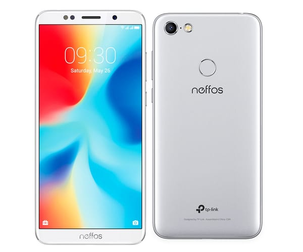 TP-LINK NEFFOS C9A MOONLIGHT SILVER MÓVIL 4G DUAL SIM 5.45'' IPS HD+/4CORE/16GB/2GB RAM/13MP/5MP