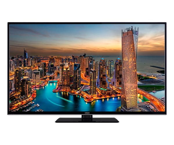 HITACHI 55HK6000 TELEVISOR 55'' LCD DIRECT LED UHD 4K HDR 1200Hz SMART TV WIFI BLUETOOTH HDMI USB GRABADOR Y REPRODUCTOR MULTIMEDIA