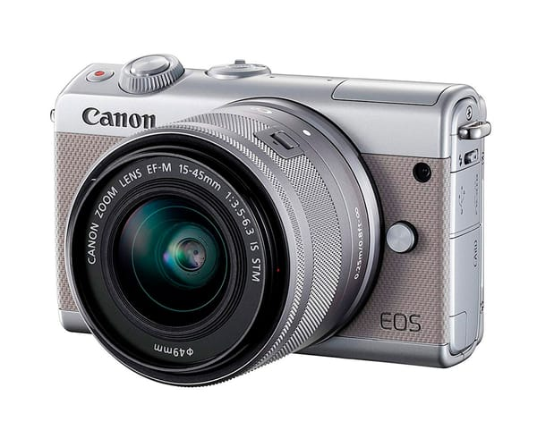CANON KIT EOS M100 GRIS CÁMARA COMPACTA 24.2MP FULL HD DIGIC 7 WIFI NFC BLUETOOTH + OBJETIVO EF-M 15-45mm