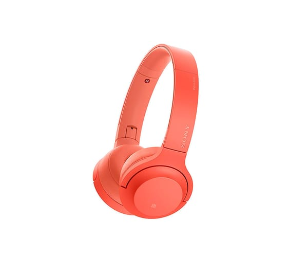 SONY WHH800R ROJO AURICULARES BLUETOOTH NFC AUDIO DE ALTA RESOLUCIÓN
