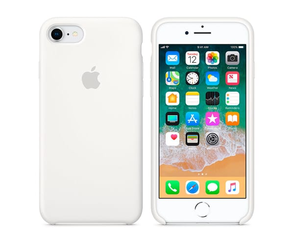 APPLE MQGL2ZM/A BLANCO CARCASA DE SILICONA IPHONE 8/7