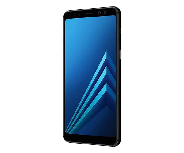 SAMSUNG GALAXY A8 (2018) NEGRO MÓVIL 4G DUAL SIM 5.6'' SAMOLED FHD+/8CORE/32GB/4GB RAM/16MP/16MP+8MP