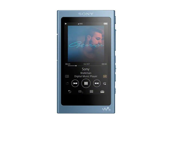 SONY NWA45 AZUL LUNAR WALKMAN 16GB REPRODUCTOR DE AUDIO DE ALTA RESOLUCIÓN HI RES S-MASTER HX BLUETOOTH NFC NOISE CANCELLING