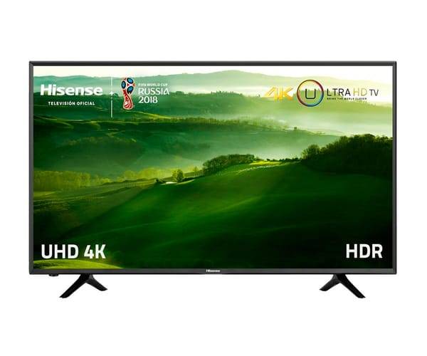 HISENSE H50N5500 TELEVISOR 50'' LCD DIRECT LED UHD 4K HDR 1200Hz SMART TV WIFI LAN HDMI USB REPRODUCTOR MULTIMEDIA
