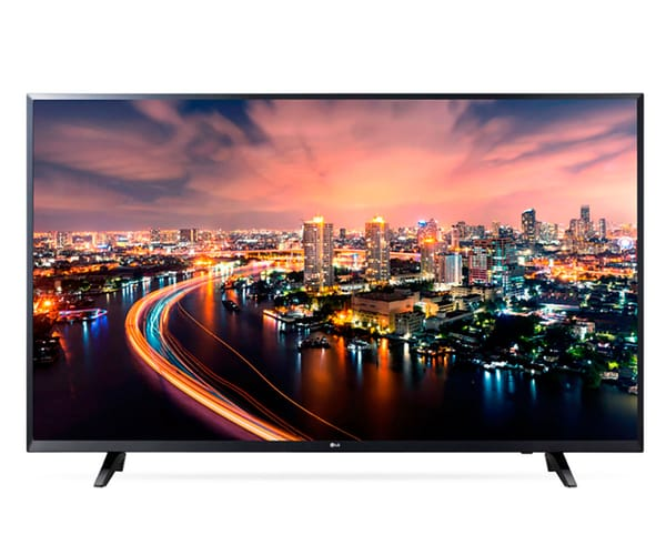 LG 43UJ6307 TELEVISOR 43'' IPS DIRECT LED UHD 4K HDR SMART TV WEBOS 3.5 WIFI BLUETOOTH LAN HDMI USB GRABADOR Y REPRODUCTOR MULTIMEDIA