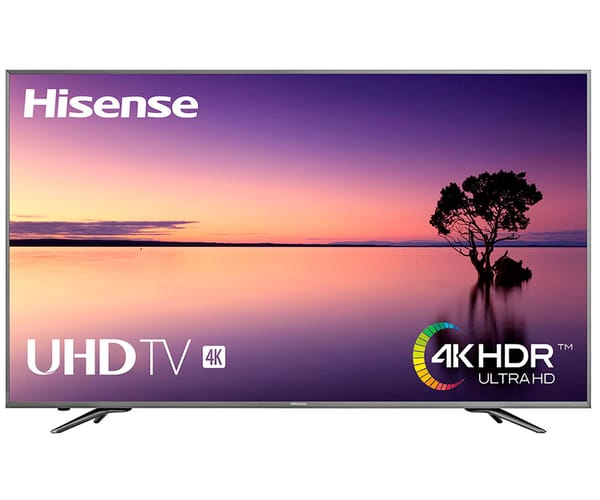 HISENSE H75N5800 TELEVISOR 75'' LCD LED UHD 4K HDR 2400Hz SMART TV WIFI LAN HDMI USB GRABADOR Y REPRODUCTOR MULTIMEDIA