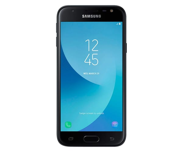 SAMSUNG GALAXY J3 2017 NEGRO MÓVIL 4G DUAL SIM 5'' PLS HD/4CORE/16GB/2GB RAM/13MP/5MP