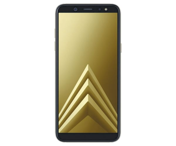 SAMSUNG GALAXY A6 (2018) DORADO MÓVIL 4G DUAL SIM 5.6'' SAMOLED HD+/8CORE/32GB/3GB RAM/16MP/16MP