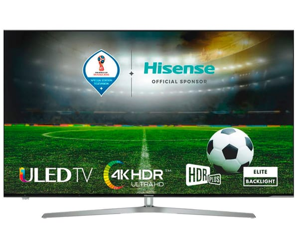 HISENSE H55U7A TELEVISOR 55'' ULED LCD UHD 4K HDR 2400Hz SMART TV WIFI BLUETOOTH