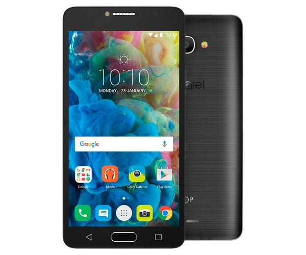 ALCATEL POP 4S GRIS OSCURO MÓVIL 4G DUAL SIM 5.5'' IPS FHD/8CORE/16GB/2GB RAM/13MP/5MP