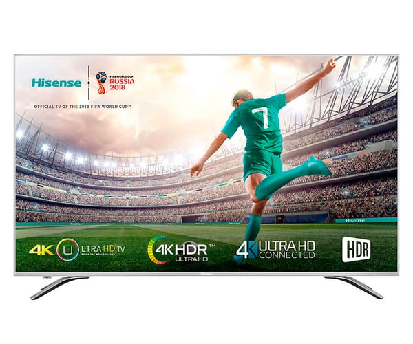 HISENSE H50A6500 TELEVISOR 50'' LCD DIRECT LED UHD 4K HDR 1800Hz SMART TV WIFI
