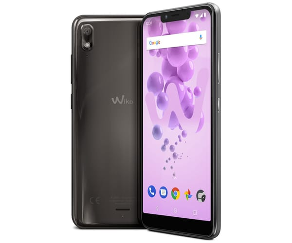 WIKO VIEW2 GO ANTRACITA MÓVIL 4G DUAL SIM 5.93'' IPS HD+/8CORE/16GB/2GB RAM/12MP/5MP