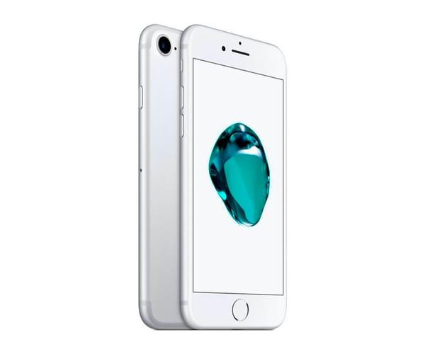 APPLE IPHONE 7 128GB PLATA REACONDICIONADO CPO MÓVIL 4G 4.7'' RETINA HD/4CORE/128GB/2GB RAM/12MP/7MP